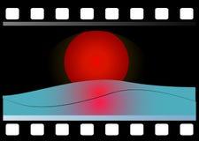 filmstrip de 35m m Imagen de archivo