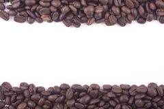 Filmstrip dei chicchi di caffè del commercio giusto Fotografia Stock