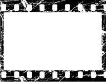 Filmstrip di Grunge illustrazione di stock