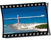 Filmstrip Feld lizenzfreies stockbild
