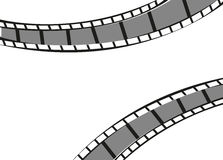 Filmstrip frame background. Illustration design Royalty Free Stock Photo
