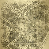 filmstrip grunge老纸张 免版税库存图片