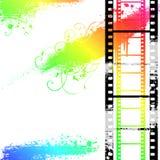 Filmstrip grunge Image libre de droits