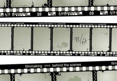 Filmstrip grunge Photographie stock libre de droits