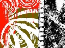 Filmstrip Grunge Hintergrund Stockbild