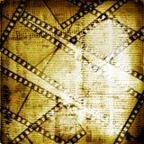 filmstrip grunge starzy papiery Zdjęcie Stock