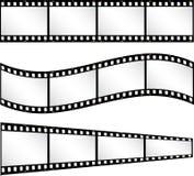 Filmstrip Hintergründe Lizenzfreie Stockbilder