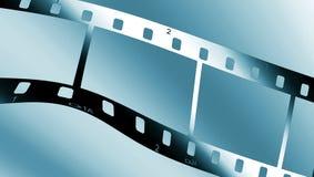 Filmstrip metálico Imágenes de archivo libres de regalías