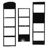 Filmstrip moyen de format, cadres de tableau Photographie stock
