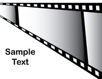 Filmstrip Presentation Royalty Free Stock Photography