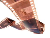 filmstrip roll Royalty Free Stock Photography