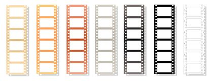 Filmstrip - cdr format Royalty Free Stock Photos