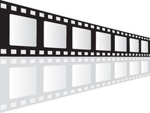 Filmstrip vector illustration Royalty Free Stock Photography