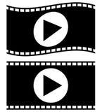 Filmstrips для фотографии, мультимедиа или родственных тем Стоковые Изображения
