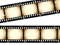 Filmstrips de Grunge Foto de archivo libre de regalías