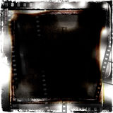 Filmstrips grunge框架 库存图片