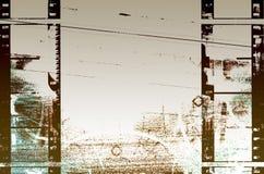 Filmstrips Grunge abstracto Imagen de archivo libre de regalías