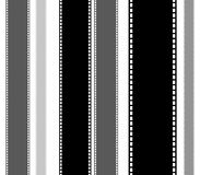 Filmstrips for photography, multimedia or related topics Stock Photo