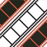 filmstrips trzy Fotografia Royalty Free