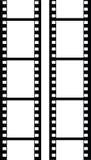 filmstripvektor Arkivfoton