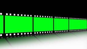 Filmstrook in Motie royalty-vrije illustratie