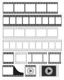 Filmstrook - vectorillustratie stock illustratie