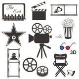 Filmsymboler Fotografering för Bildbyråer