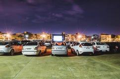 Filmtechnik Autorama in Campo groß - Mitgliedstaat bei Praca tun Papa lizenzfreie stockfotos