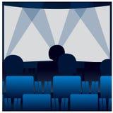 Filmtheater Lizenzfreies Stockbild