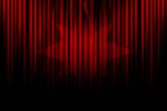 Filmtrennvorhang Stockbild