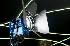 Filmu światło reflektorów Zdjęcie Stock