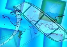 Filmu świat royalty ilustracja