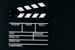 Filmu Clapper deska zdjęcia royalty free