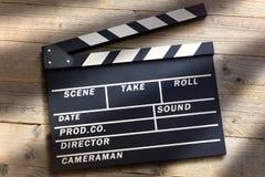 Filmu Clapper deska Obrazy Royalty Free