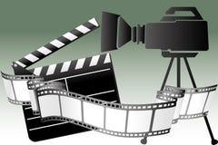 Filmu czas Zdjęcia Stock