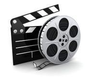 Filmu i schowka symbol Obraz Royalty Free