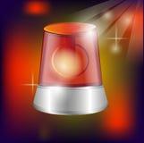 Filmu lub fotografii ekranowy wektor z odbiciem odizolowywającym na czerwonym tle Zdjęcia Royalty Free