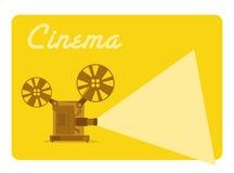 Filmu projektor Obrazy Stock