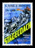Filmy, Stagecoach, Ekranowy plakata seria około 1995, zdjęcia royalty free