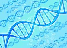 Filo del DNA Fotografia Stock