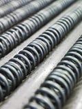 Filo di acciaio Fotografie Stock