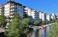 Filo di Kungsbro a Stoccolma Immagine Stock Libera da Diritti