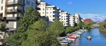 Filo di Kungsbro a Stoccolma Fotografie Stock