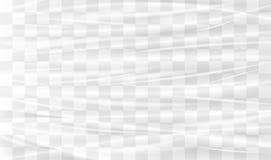Filo di ordito di plastica trasparente illustrazione vettoriale