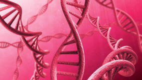 Filo girante del DNA royalty illustrazione gratis