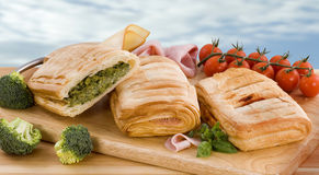 Filo pastries Stock Photography