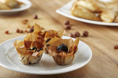 Filo pastry Royalty Free Stock Image