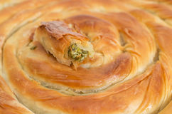 Filo pastry roll Stock Image