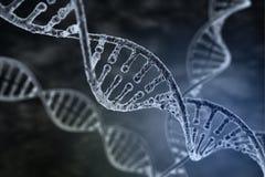 Filo a spirale di DNA illustrazione di stock