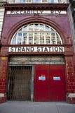 Filo/stazione di Aldwych Fotografie Stock